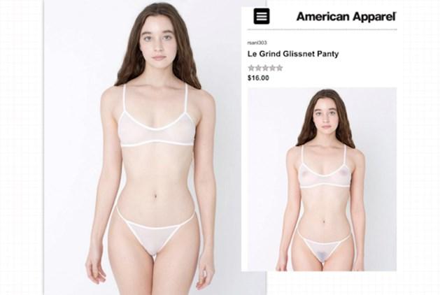 Modellen zonder tepels in nieuwe modecampagne