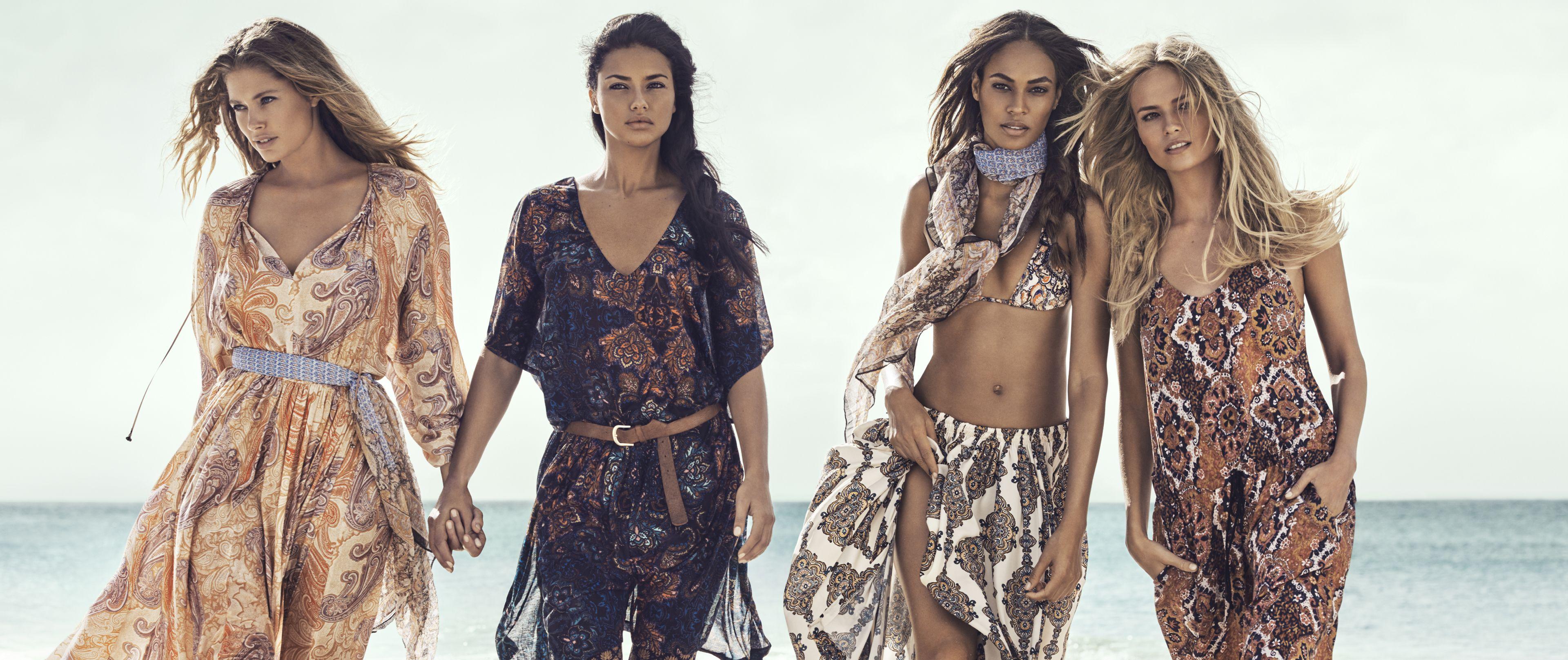 Doutzen Kroes in H&M zomercampagne