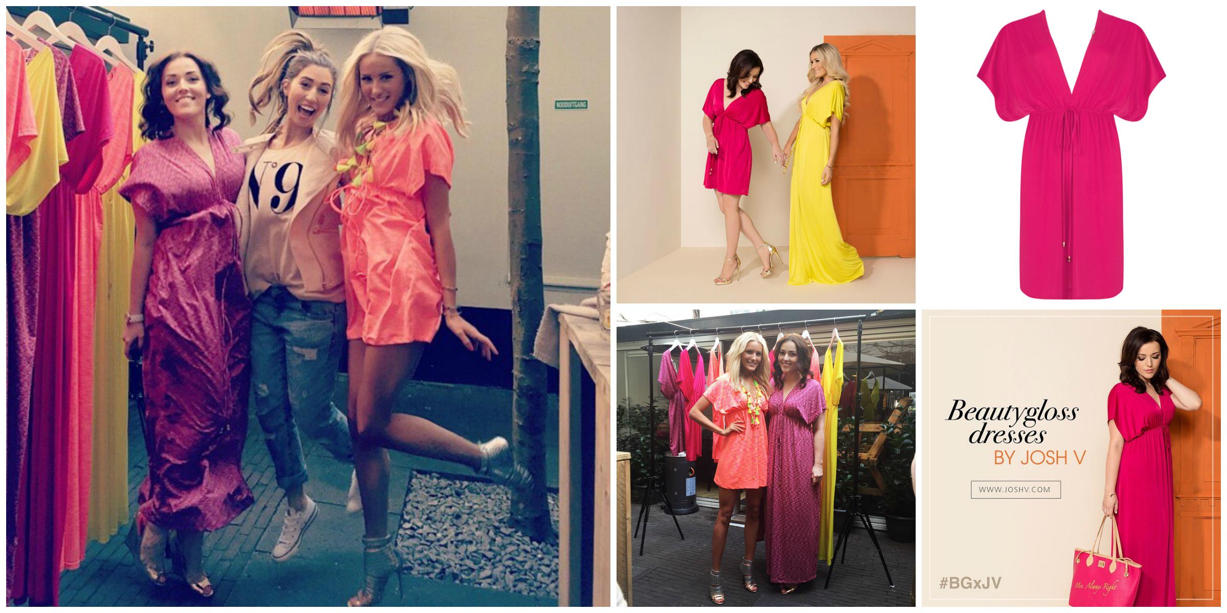 Josh V en Mascha Feoktistova ontwerpen de #BGxJV dress