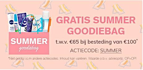 Gratis Summer Goodiebag