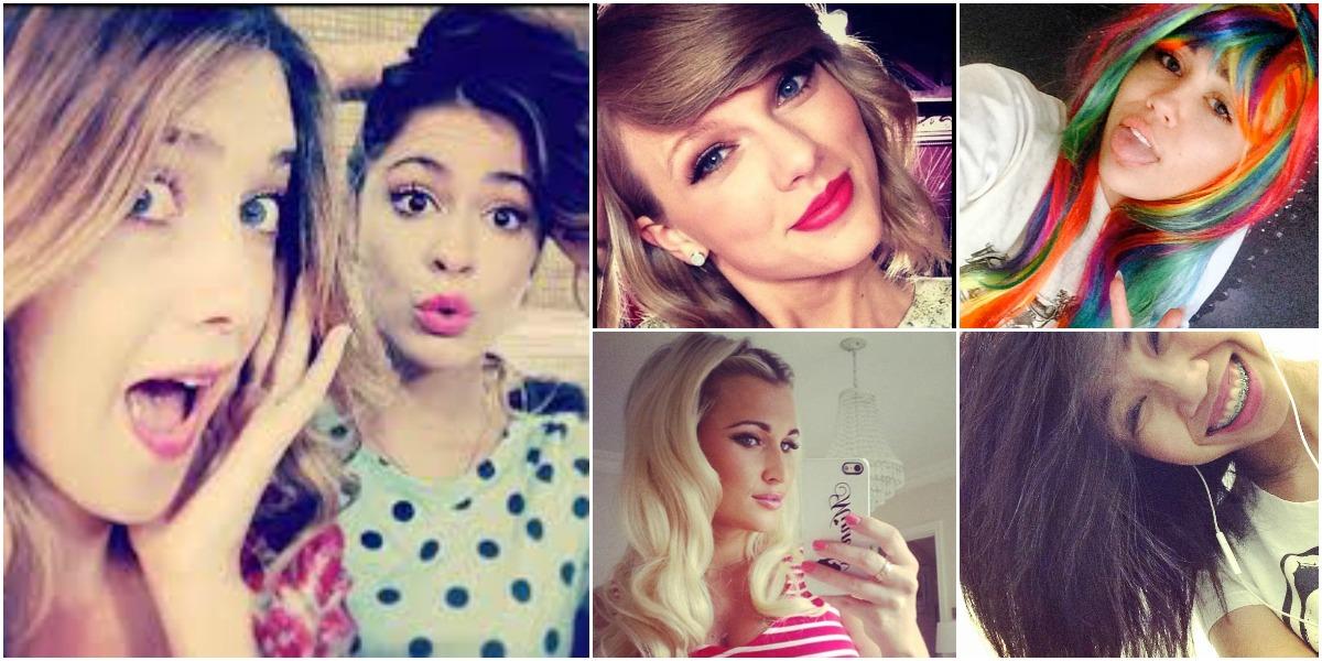 Foto's: zo beïnvloedt Social Media onze haarkleur