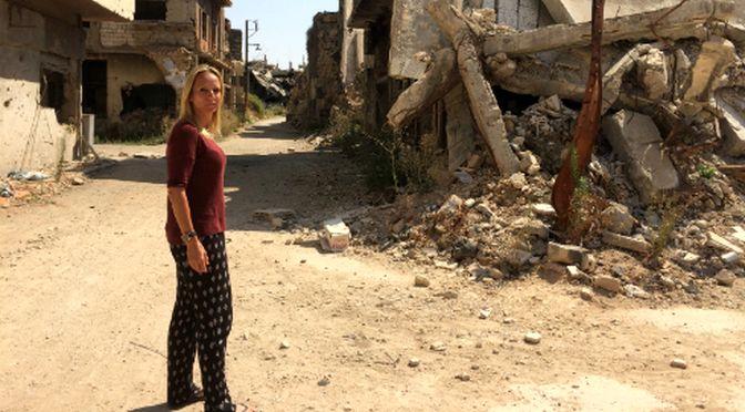 Floortje terug naar Syrië: acht jaar na haar eerste bezoek