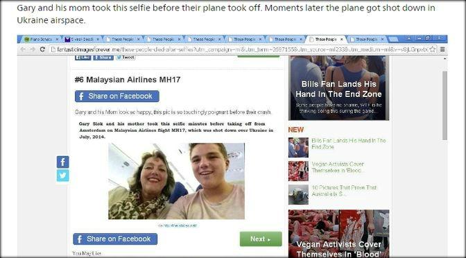 """""""MH17-slachtoffer dood door eigen domme schuld"""""""