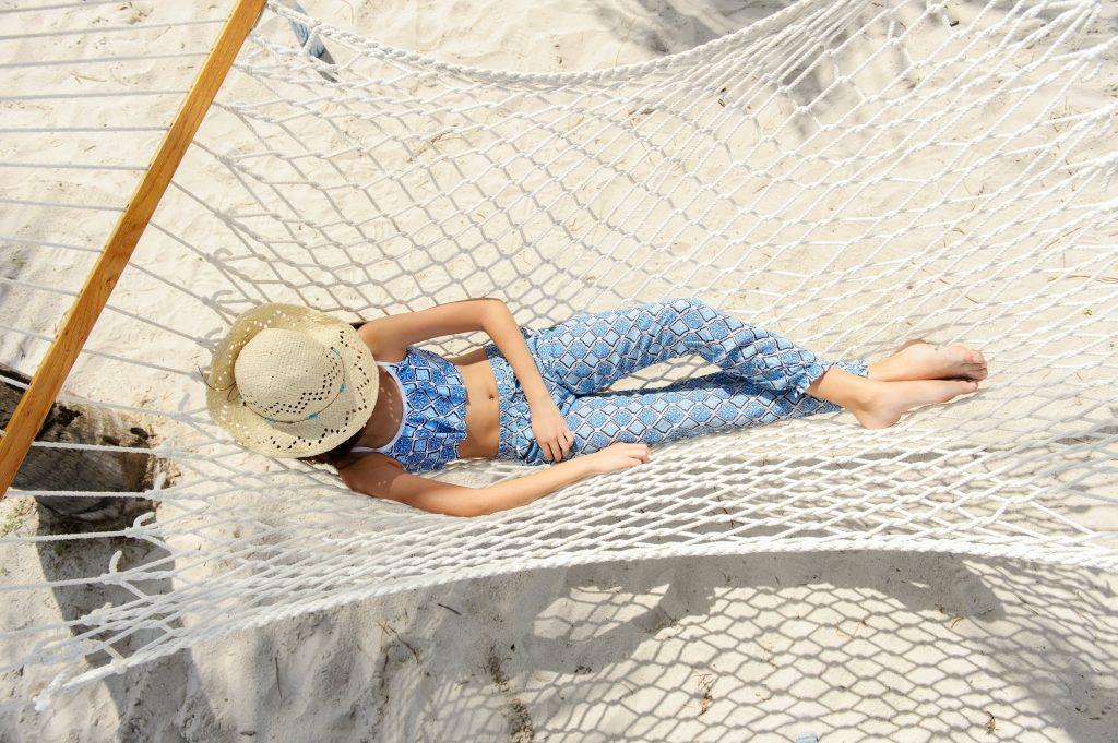 Badmode die je beschermt tegen de zon: strandbroek moroccan