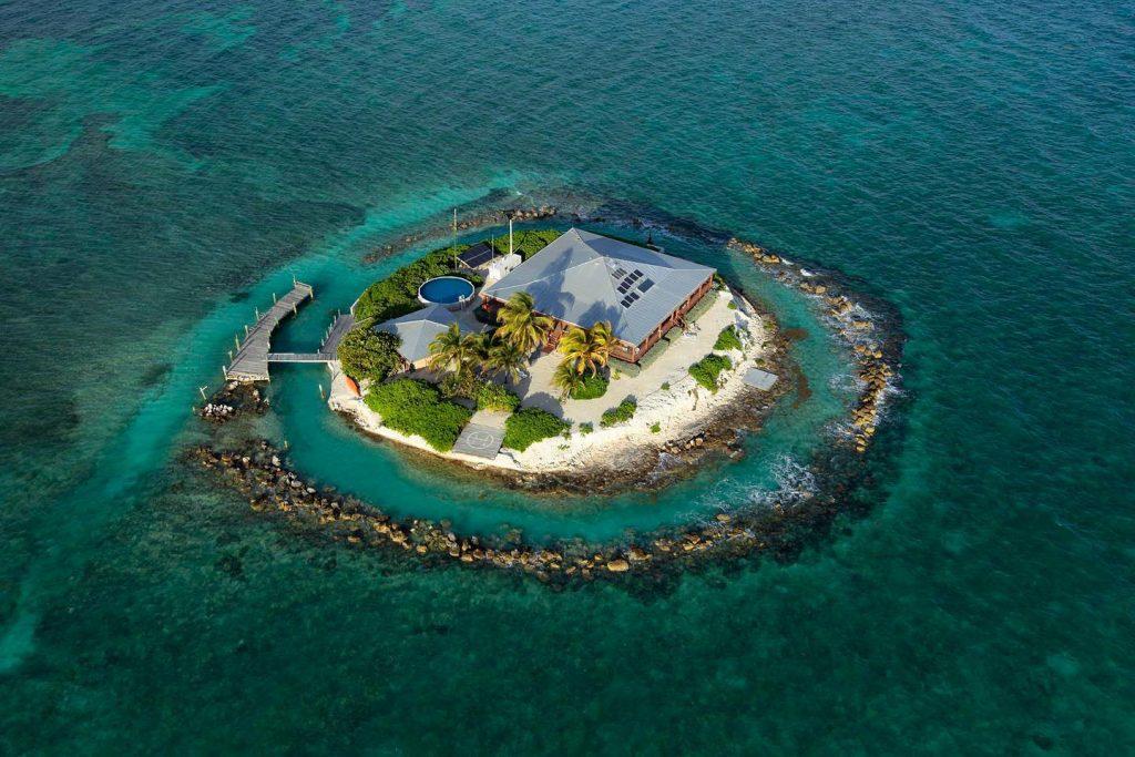 Privé-eiland: East Sister Rock Island