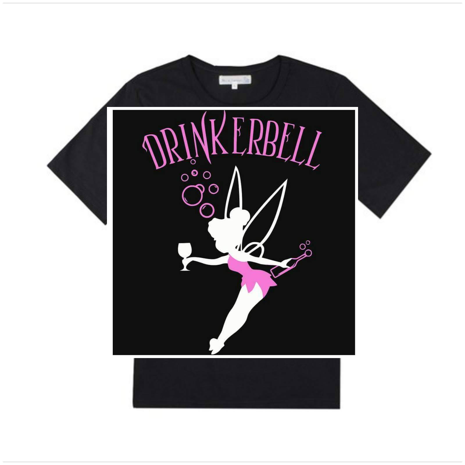 Drinkerbell T-shirt - Dikke T-shirts