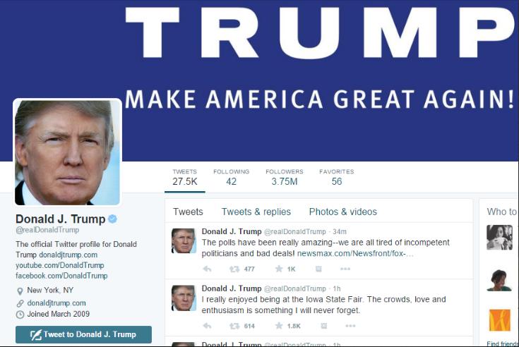 Ontslagen medewerker van Twitter zette Trump offline