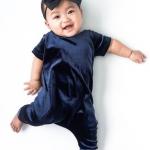 Baby in fluweel