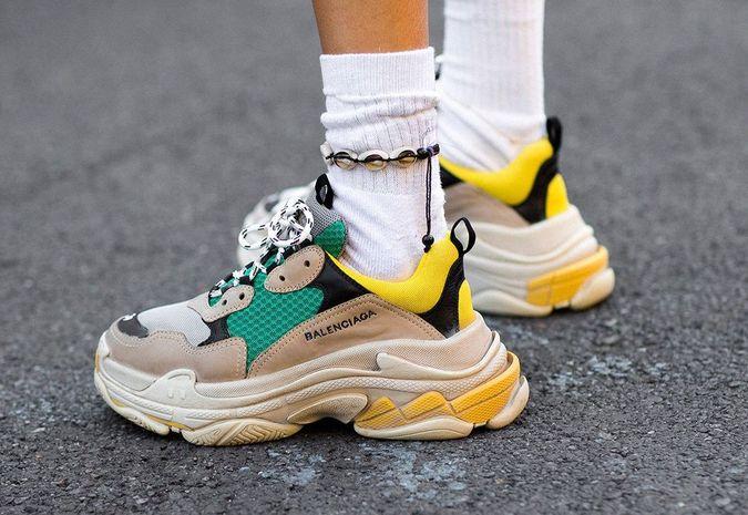 Dad sneakers: ook deze herfst hot