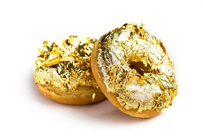 Gouden donuts Dunkin Donuts