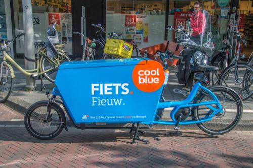 Coolblue tekst fiets