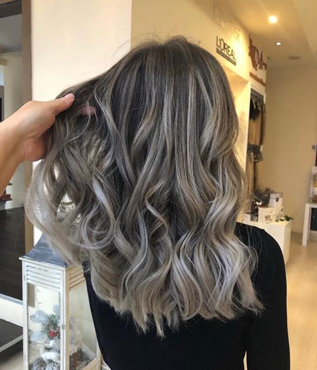 Haartrends 2019 - going grey
