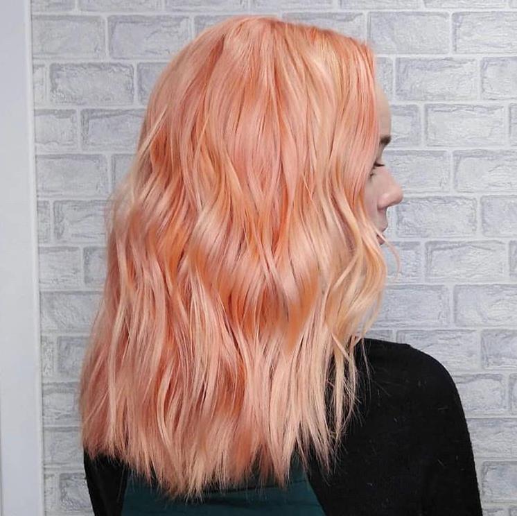 Haartrends 2019 - peachy 2