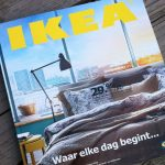 Offline marketing versus online marketing - Ikea catalogus
