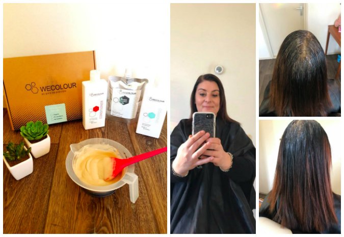 Wecolour haarverf product review