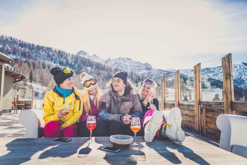 prijs van een biertje in populaire après-ski gebieden internationaal