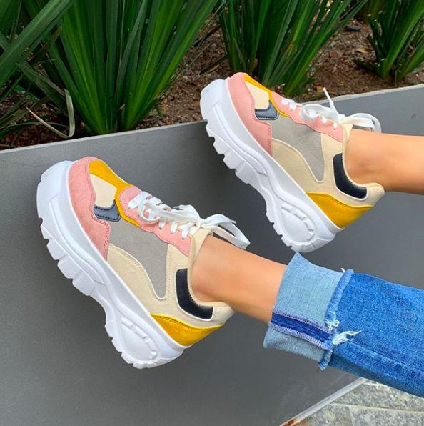 Schoenentrends 2019 - dad sneakers