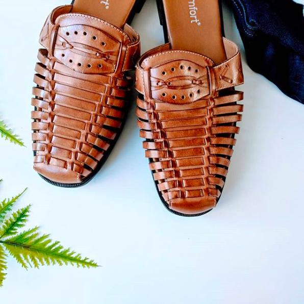 Schoenentrends 2019 - cognac schoenen