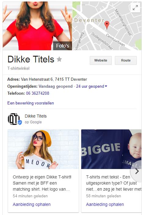 Bloggen met Google