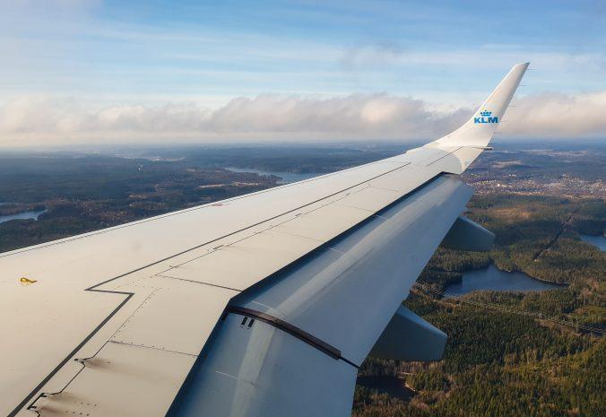Bedrijven vliegen op duurzame biokerosine met KLM
