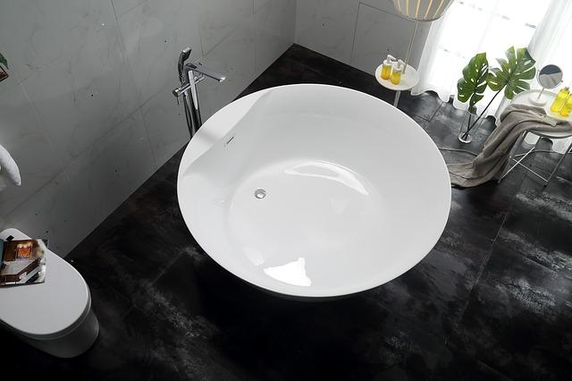 Een rond bad