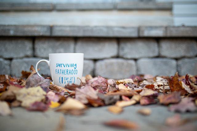 Koffiebeker voor vaders