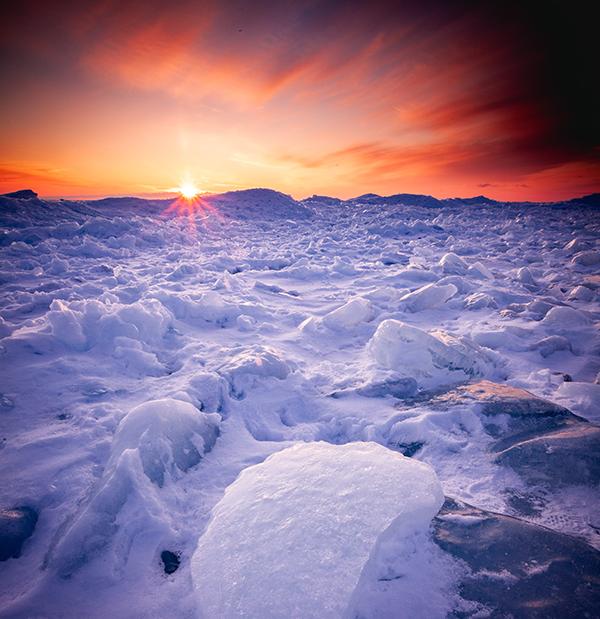 Middernachtzon Spitsbergen