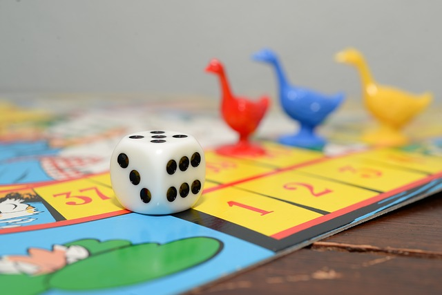 Een gezelschapsspel spelen