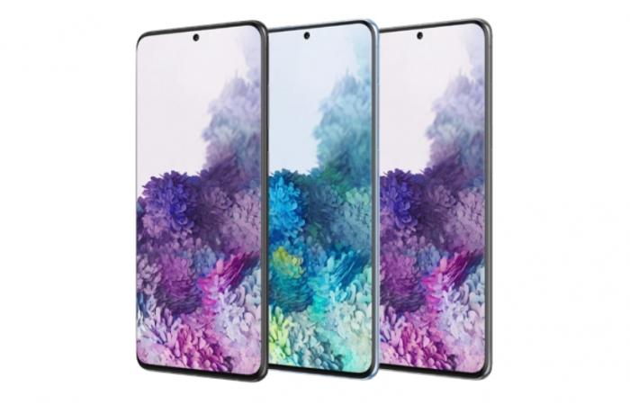 Samsung S20 Plus voor zakelijk bellen