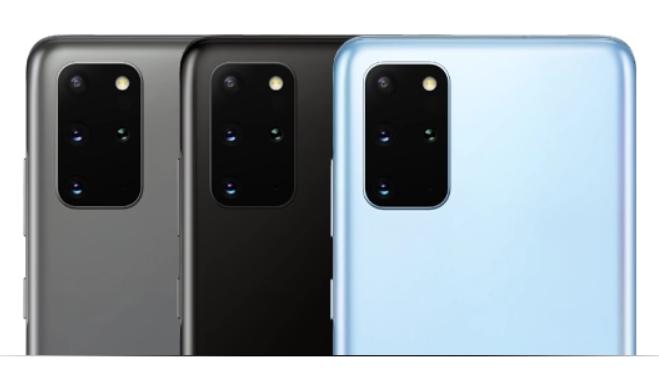 Samsung S20 met 4 camera´s
