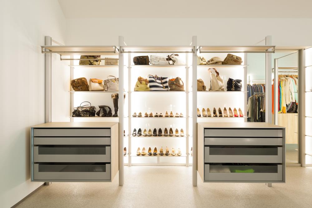 6 x: de beste walk-in closet voor elke vrouw