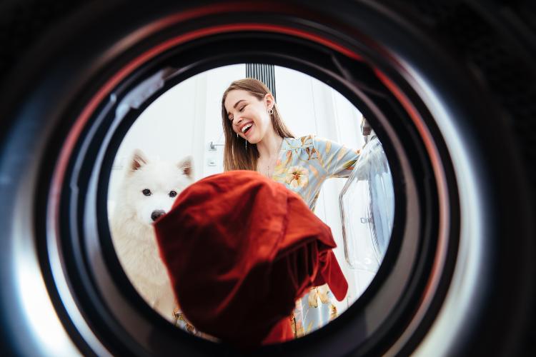 Kreukels voorkomen, stop de wasmachine niet te vol