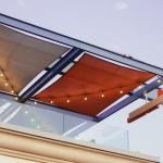 Zonneschermen voor het balkon