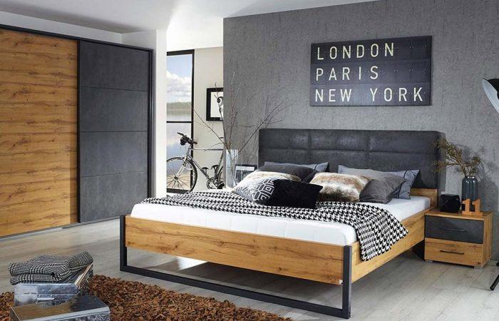 Slaapkamersets - Industriële slaapkamer