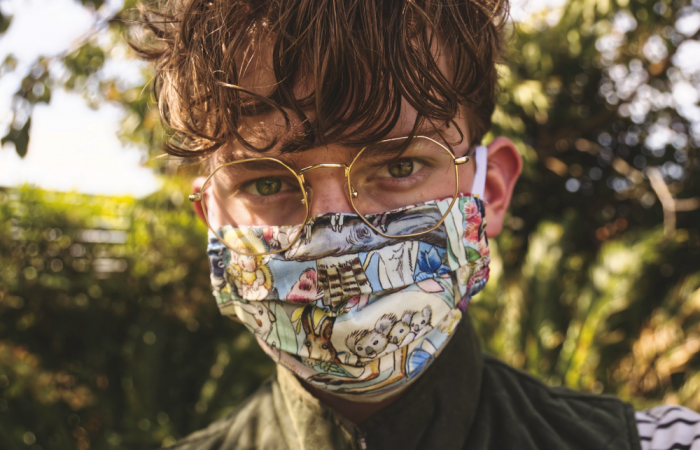Trendy mondkapjes - hippe kleuren en printjes