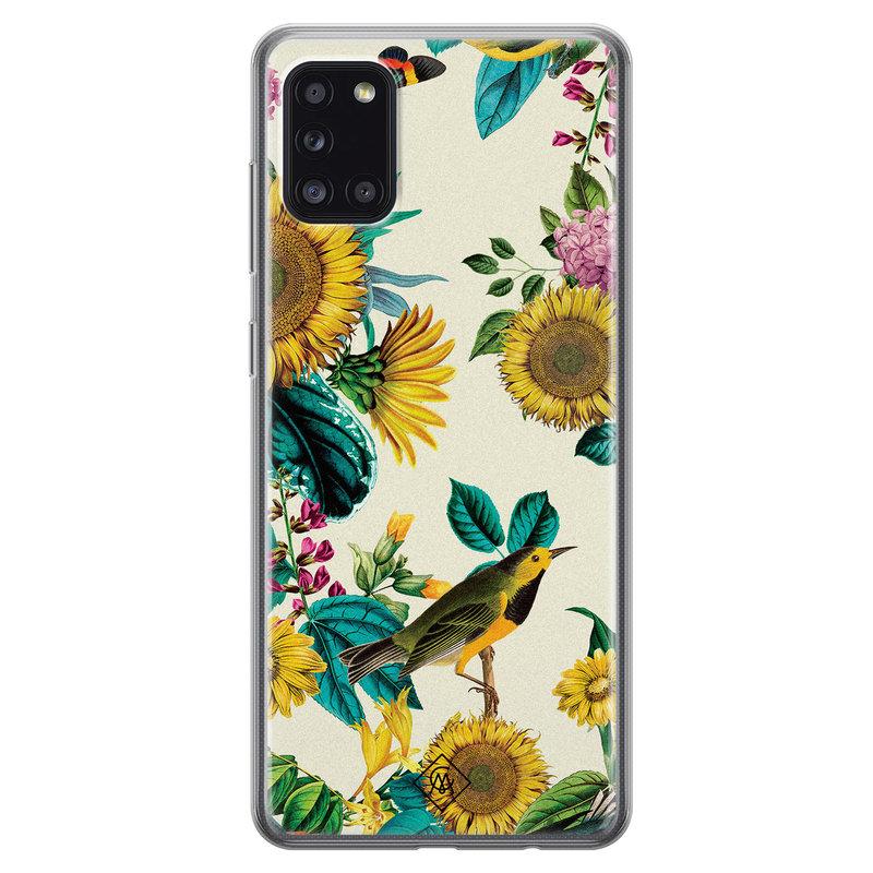 Telefooncover zonnebloemen