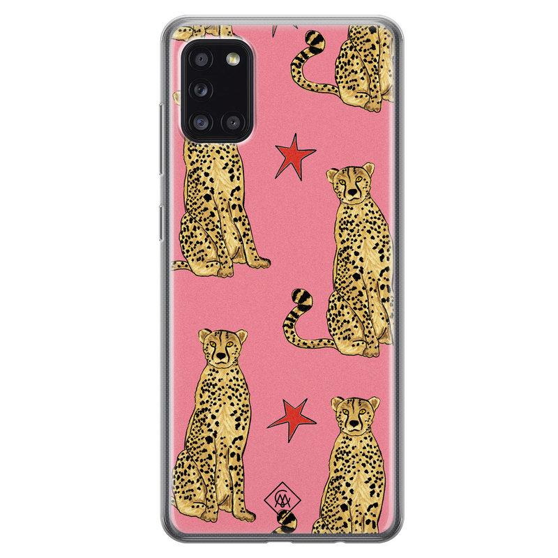Telefoonhoesje roze panter