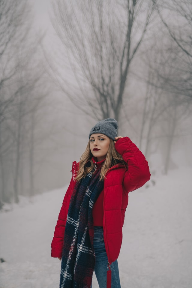 Dames winterjassen 2020 - rode dames winterjas