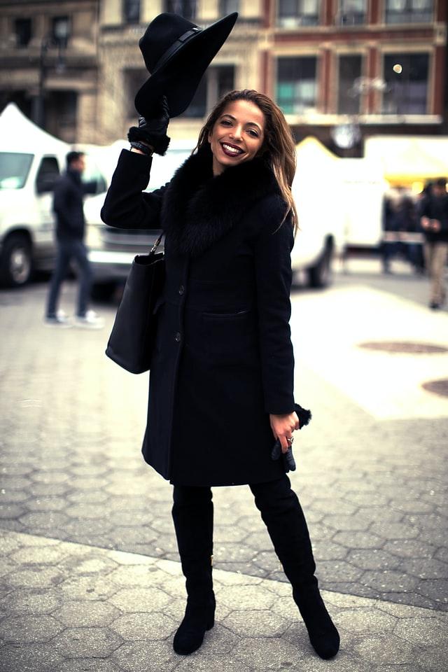 Dames winterjassen 2020 - zwarte damesjas