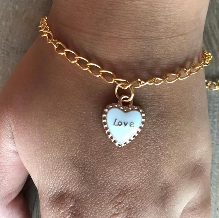 Jewellery by Nadia - love bracelet