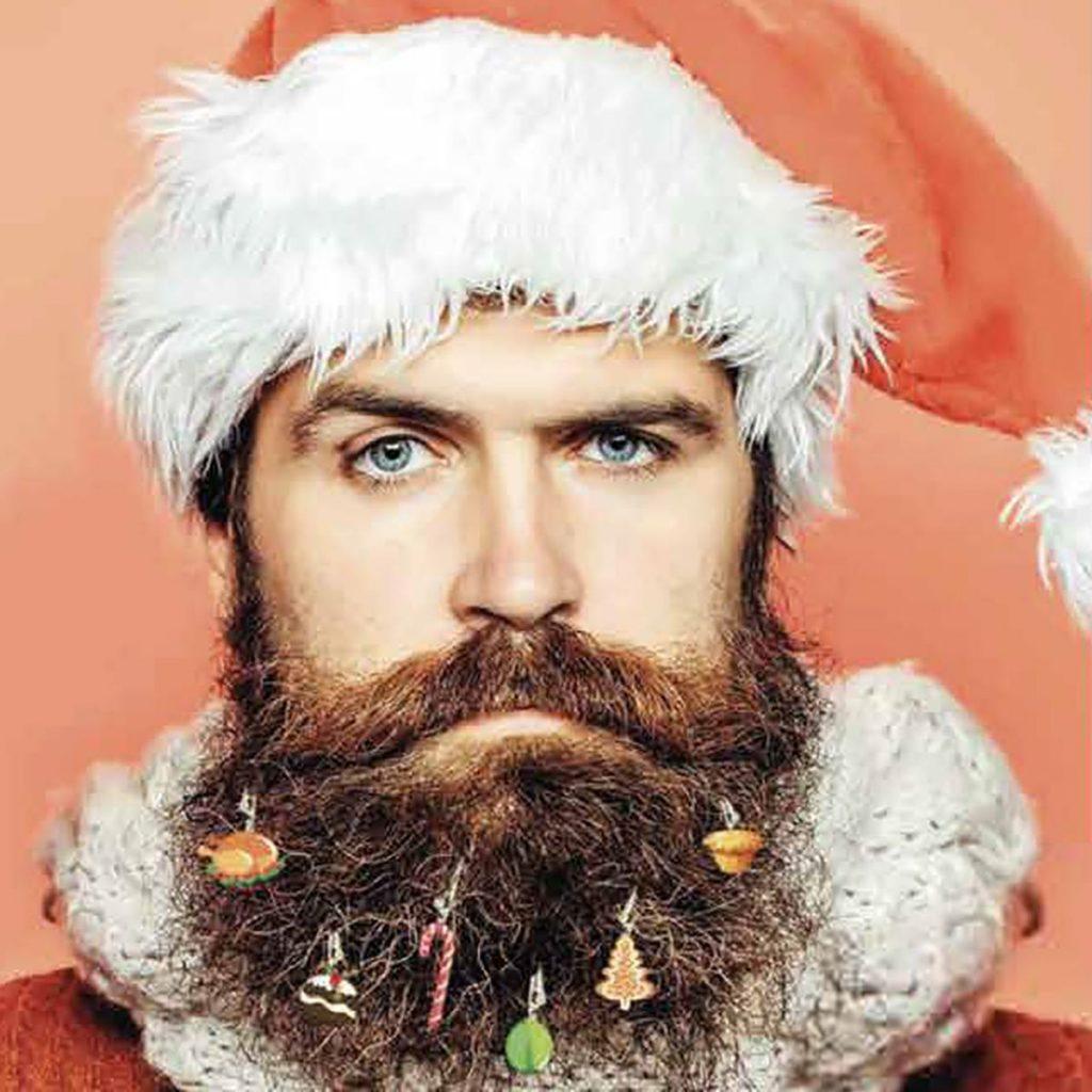Kerstbaard - kerstdecoratie voor je baard