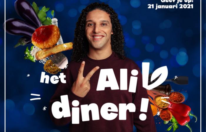 Ali V Diner op 21 januari 2021