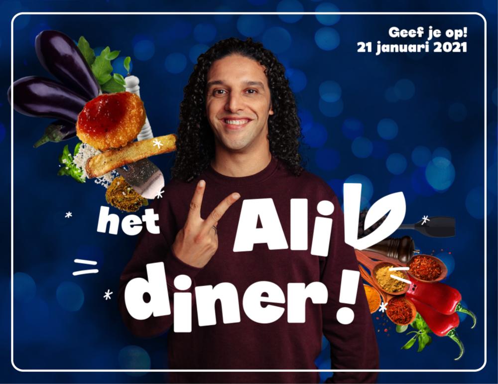 Ali V Diner: schuif aan bij Ali B voor een plantaardig diner