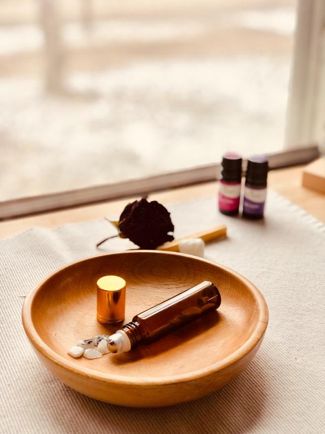 Etherische olieën in de badkamer