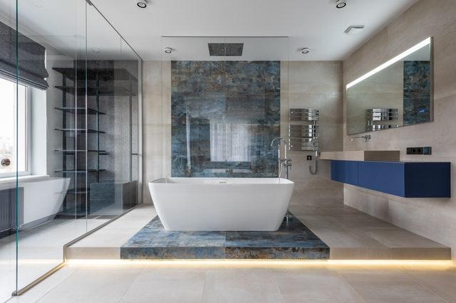 De badkamer van de toekomst - een moderne badkamer
