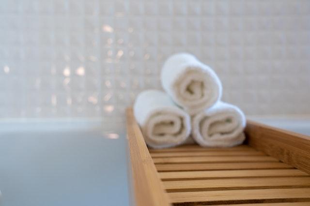Een landelijke badkamer