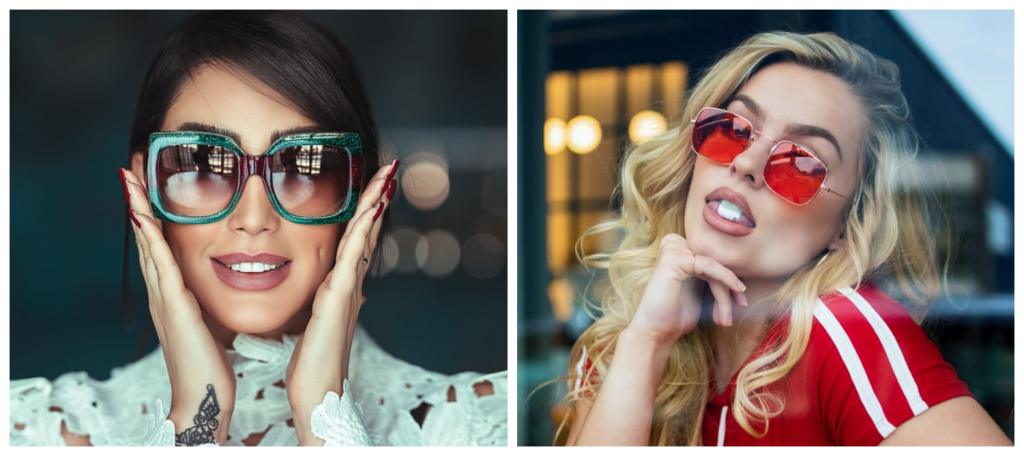 2021 zonnebrillen - oversized zonnebrillen en geometrische zonnebrillen