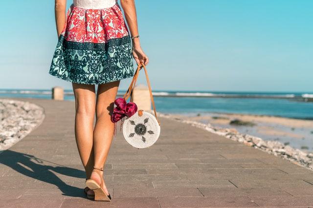 Rokjesdag 2021 op het strand
