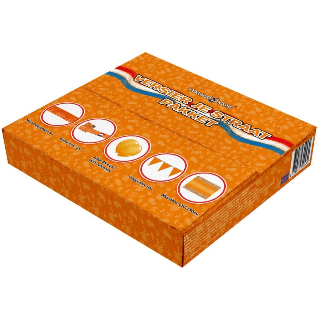 Het Oranje Versier Je Straat Pakket