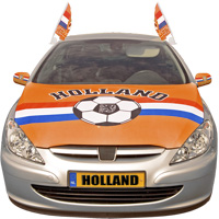 Oranje motorkaphoes